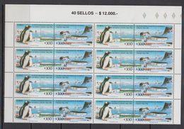 Chile 1994 Antarctica 8x2v Se Tenant ** Mnh (41744) - Postzegels