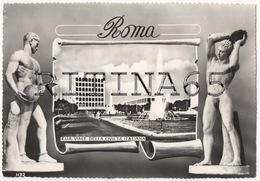RM130 !!! ROMA EUR VIALE DELLA CIVILTA' ITALIANA VIAGGIATA 1960 F.G. !!! - Roma
