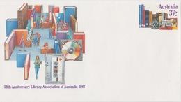 50th Anniversary LIBRARY Association Of Australia 1987 - Australie