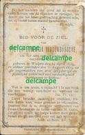 Doodsprentje Pieter Vandenbussche Wulpen 1839 En Aldaar Overleden 1879 Bidprentje Nieuwpoort - Images Religieuses