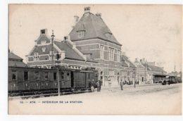 Ath Nr 12 Interieur De La Station Avec Tram - Ath