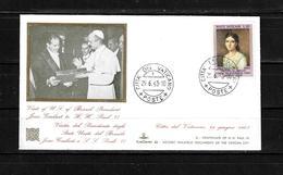 Vaticano 1963 Sobre Primer Dia. - Lettres & Documents