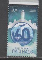 MEXICO, 2017, MNH, AIRPLANES, OACI NACC, ICAO, 1v - Airplanes