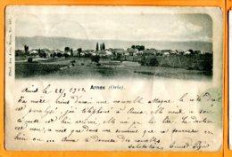 Lip178, Arnex Sur Orbe, Précurseur, Phot. Des Arts Nyon, Dos Taché à L'eau, Précurseur, Circulée 1912 - VD Vaud