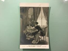 Mlle Suzanne HUREL. — La Dictée — Salon Des Femmes Peintres 1914 - Peintures & Tableaux