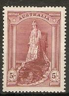 AUSTRALIA 1938 5s SG 176 MOUNTED MINT Cat £28 - 1937-52 George VI