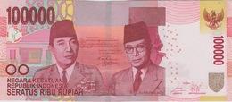 100.000 ROUPIES 2014 - Indonésie