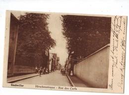 67 F CPA Hirschenstrasse Rue Des Cerfs Guebwiller  Très Bon état - Guebwiller