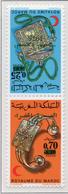 1975 - MAROCCO - MAROC - Yv:  Nr. 743/744 - NH - (UP121.1) - Morocco (1956-...)