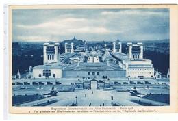 CPA-75-1925-PARIS-EXPO INTERNATIONALE DES ARTS DÉCORATIFS-VUE GENERALE SUR L'ESPLANADE DES INVALIDES-SEPIA - Expositions