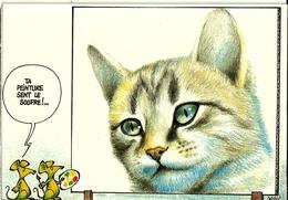 LES CHATS 1 - Illustrateur Castan 1988 Cadratin - Cats