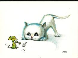 LES CHATS 5 - Illustrateur Castan 1988 Cadratin - Cats