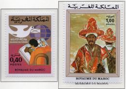 1975 - MAROCCO - MAROC - Yv:  Nr. 725+730 - NH - (UP121.1) - Marocco (1956-...)