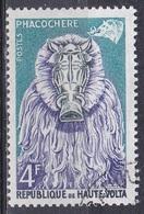Obervolta Upper Volta Haute Volta 1960 Kultur Culture Tiermasken Masken Masks Warzenschein Warthog Bobo, Mi. 76 Gest. - Obervolta (1958-1984)