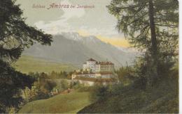 AK 0143  Schloss Anbras Bei Innsbruck - Verlag Ledermann Um 1907 - Innsbruck