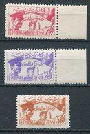 1957-TUNISIA-REPUBBLIQUE-  3 VAL. M.N.H. -LUXE !! - Tunisia