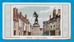 CPA Mignonnette 45 JARGEAU Loiret - La Place Du Martroi (Statue Jeanne D'Arc) - Jargeau