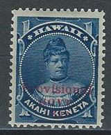 Hawaii Mi 38, Sc 54  * Mint Hinged - Hawaï