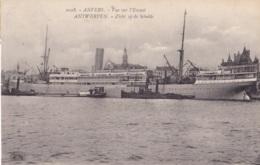 Anvers Vue De L'Escaut - Zicht Op De Schelde Circulée En 1921 - Antwerpen