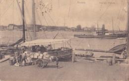 Anvers Vue De L'Escaut Circulée En 1906 - Antwerpen