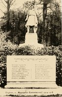 Enghien (95)  Monument Commémoratif 1914-1918 - Enghien Les Bains