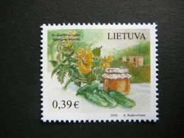 Gastronomic Heritage # Lietuva Litauen Lituanie Litouwen Lithuania # 2016 MNH #Mi. 1221 - Lituanie