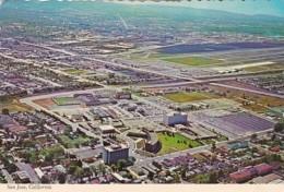 California San Jose Aerial View Of Civic Center - San Jose