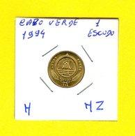 CABO VERDE / 1 ESCUDO 1994 / TARTARUGA  / - [H-HZ] - Cap Vert
