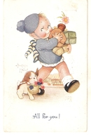 """""""Beatrice  Mallet. All For You Tuck Oiette Cute Kiddies Series PC # 3567 - Tuck, Raphael"""
