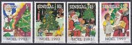 Senegal 1993 Religion Christentum Weihnachten Christmas Weihnachtsbaum Tree Spielsachen Toys, Mi. 1272-5 ** - Senegal (1960-...)