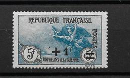 N°169** Au Profit Des Orphelins SIGNE CALVES Gomme Origine , - Francia