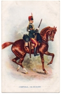 """CPA Militaria - TUCK And Son """"Oilette"""" - 8738. Corporal, 11th Hussars (Prince Albert's Own) - Types Of The British Arm - Militaria"""