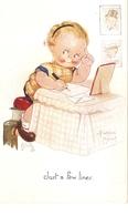 """Beatrice  Mallet. Just A Few Lines"" Tuck Oiette Cute Kiddies Series PC # 3568 - Tuck, Raphael"