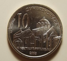 Serbia 10 Dinara 2003 Varnished - Serbie