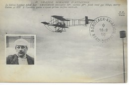 Semaine D'Aviation Mérignac Beau-Désert Biplan SOMMER - ....-1914: Précurseurs
