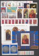 SMOM 1989 Annata Completa/Complete Year MNH/** VF - Malte (Ordre De)