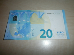 20 EUROS (Z Z002 F4) - EURO