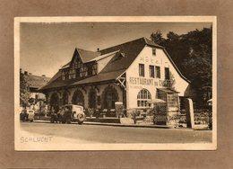 CPA - COL De La SCHLUCHT (68) - Aspect De La Ferme-Auberge-Hôtel Du Chalet En 1937 - Other Municipalities