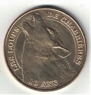 Monnaie De Paris 23.Gueret - Loups De Chabrières 10 Ans 2011 - Monnaie De Paris