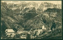 CARTOLINA - CV516 PIEDICOLLE PODBERDO (Gorizia GO) Panorama, FP, Viaggiata 1928, Ottime Condizioni - Gorizia