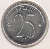 @Y@  België  25  Centime  1975  Unc      (4885) - 02. 25 Centimes