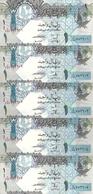 QATAR 1 RIYAL ND2008 UNC P 28 ( 5 Billets ) - Qatar