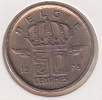 @Y@  België  50  Centime  1975  Unc      (4886) - 03. 50 Centiem