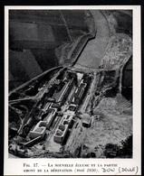 1950  --  DON NORD  LA NOUVELLE ECLUSE EN CONSTRUCTION  VUE AERIENNE  3Q524 - Vieux Papiers