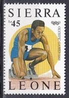 Sierra Leone 1987 Sport Spiele Olympia Olympics IOC Seoul Leichtathletik Athletics Laufen, Mi. 999 ** - Sierra Leone (1961-...)