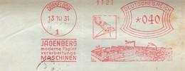 EMA ALLEMAGNE DEUTSCHLAND PAPIER PAPER MASCHINEN FUR DIE PAPIERFABRIKATION MACHINE FABRICATION JAGENBERG 1931 DUSSELDORF - Usines & Industries