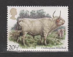 Engeland United Kingdom, Great Britain, Angleterre Used ; Koe Cow La Vache Vaca Rund 1985 NOW MANY STAMPS OF ANIMALS - Koeien