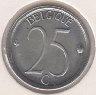 @Y@  België   25   Centiem  1975   Unc      (4892) - 02. 25 Centimes
