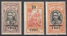 OCEANIE 44 / 46 ** - Oceania (1892-1958)