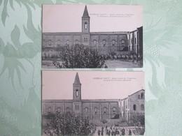 Espira De L Agly . Ancien Couvent Des Trappistes . Prisonniers Allemands .2 Cartes - France